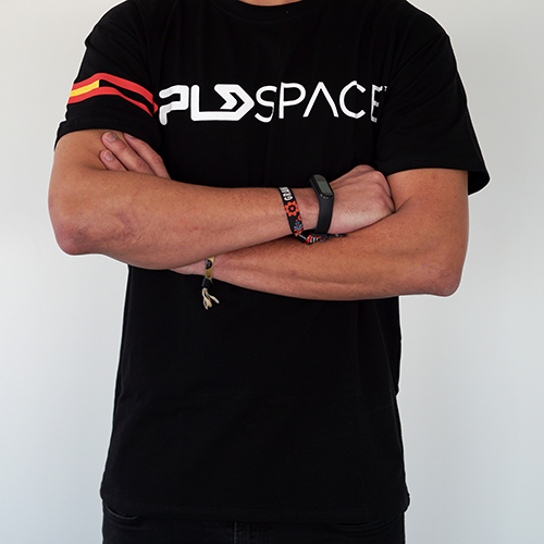 Camiseta negra MIURA