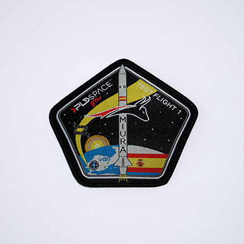 Parche de misión PLD Space. PLD Space Mission Patch