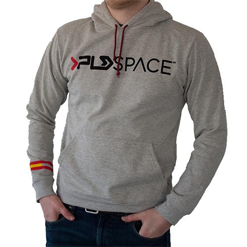 Sudadera gris PLD Space